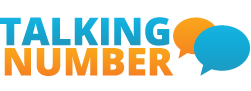 Talking Number logo